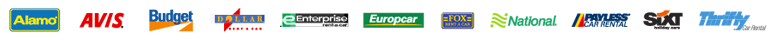 Goldcar car rental agency at  Budapest Airport (Hungary)